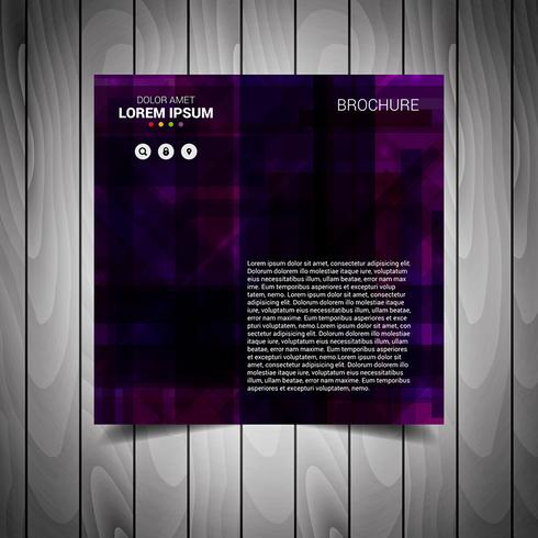 Purple Business Flyer Template