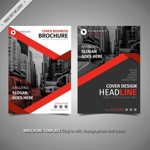 Elegant Red Brochure