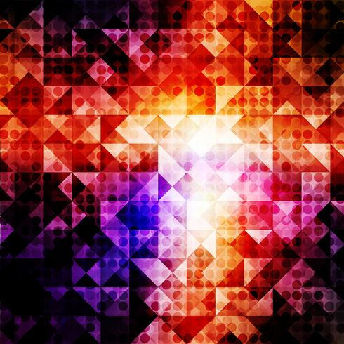 Light Dotted Abstract Background