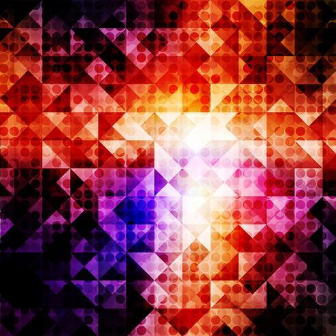 Licht punktierter abstrakter Hintergrund