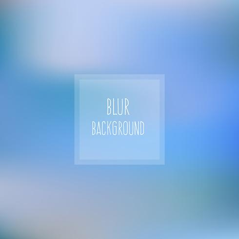 Fond bleu flou vecteur