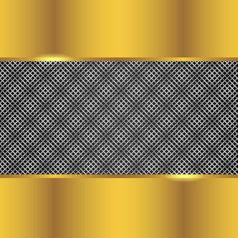 Silver And Gold Background