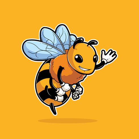 Bee Insect Mascotte
