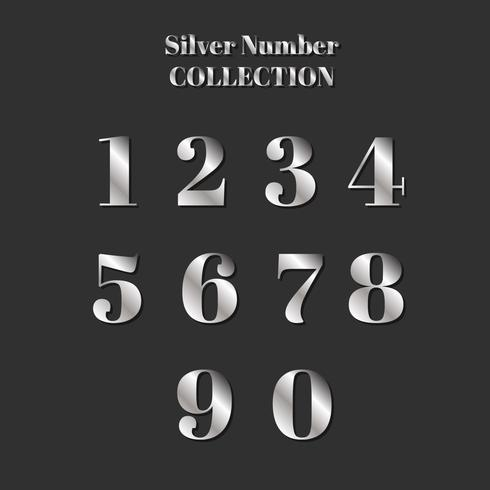 Silver Number Collection