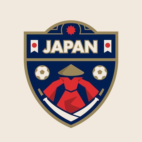 Insignias de fútbol de la Copa Mundial de Japón