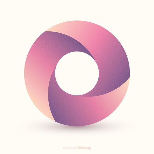 Projeto de vetor de círculo de Loop infinito