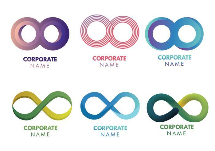 Pack de Vector Logo Infinity