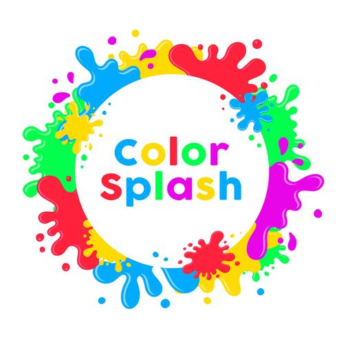 Fond de Splash Inkblot