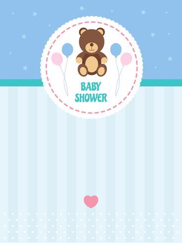Vectores de fondo de Baby Shower