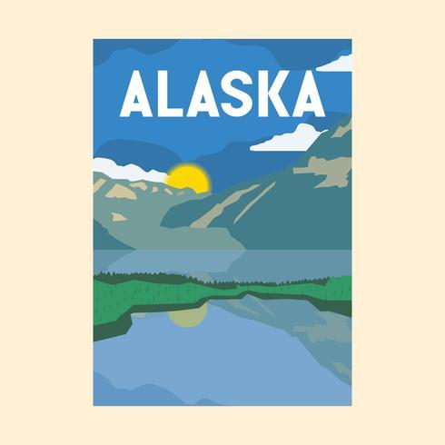 Nationalpark Illustration