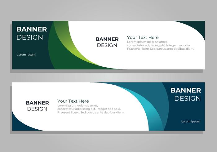 Corporate Banner Design Template - Download Free Vector Art, Stock ...
