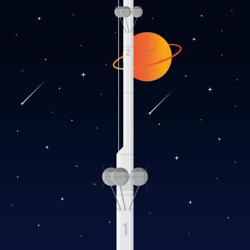 ruimte lift vector