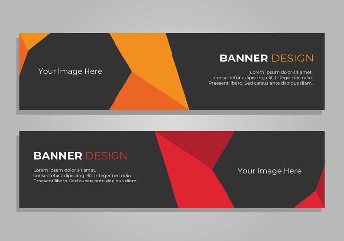 Banner Design, cabeçalho da Web corporativa