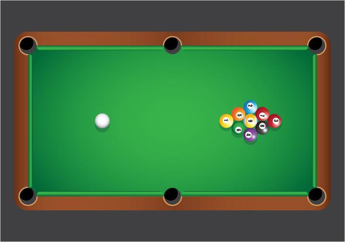 9 Ball Billiard Vector