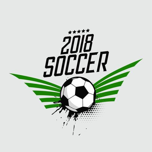 2018 soccer foorball sports background