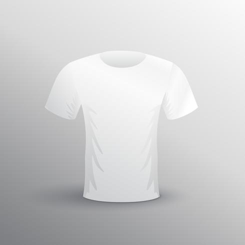 t-shirt mockup on gray background