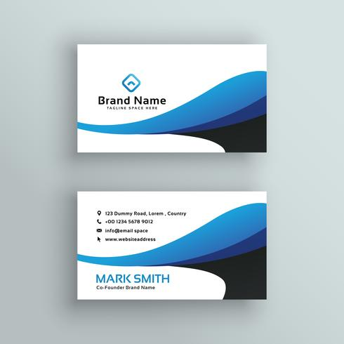 modern creative business card vector design