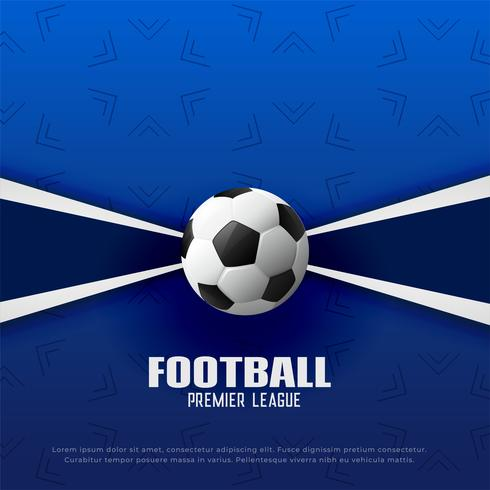 football premier league soccer championship background