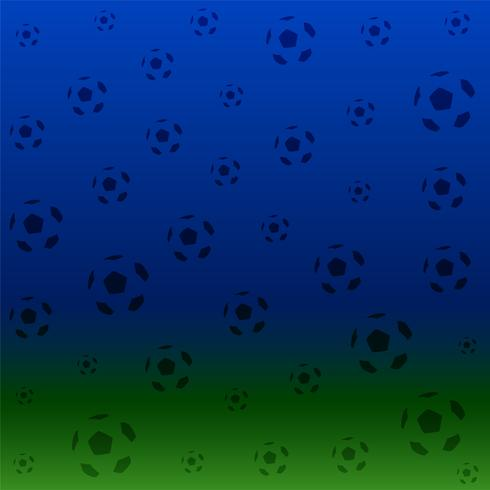 background of football pattern poster