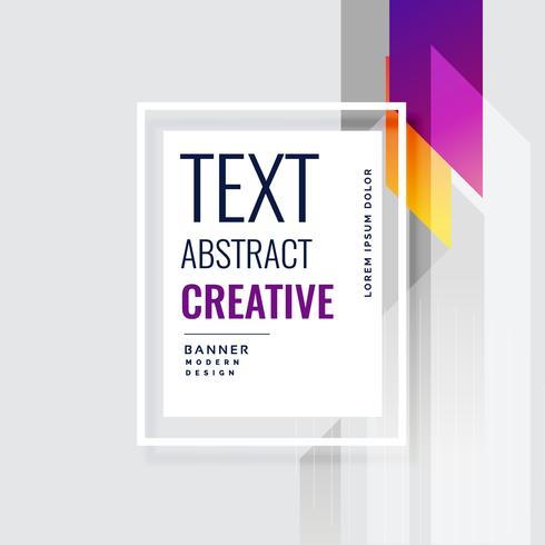 creative abstract background with text space