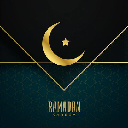 ramadan kareem islamic festival greeting design