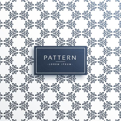 creative line flower pattern background