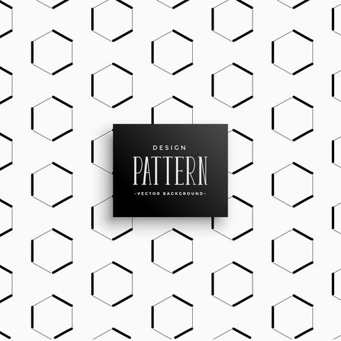 geometric hexagonal style pattern background
