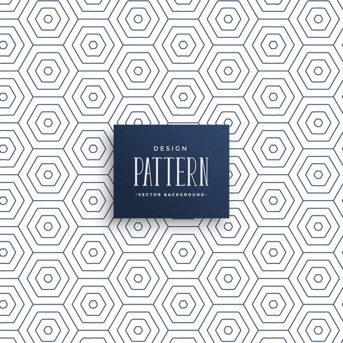 subtle hexagonal line pattern background