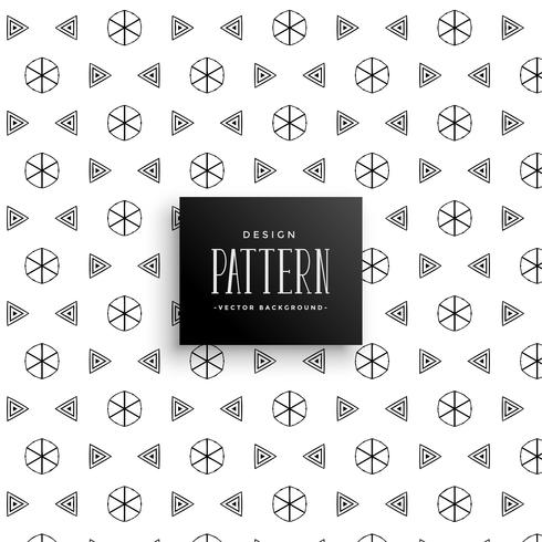 decorative art elements pattern background