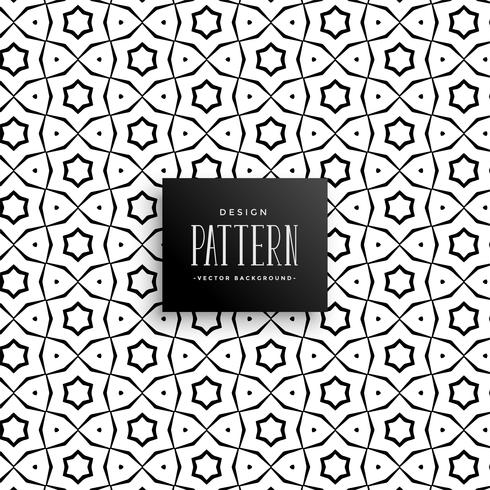 islamic style line pattern background vector design