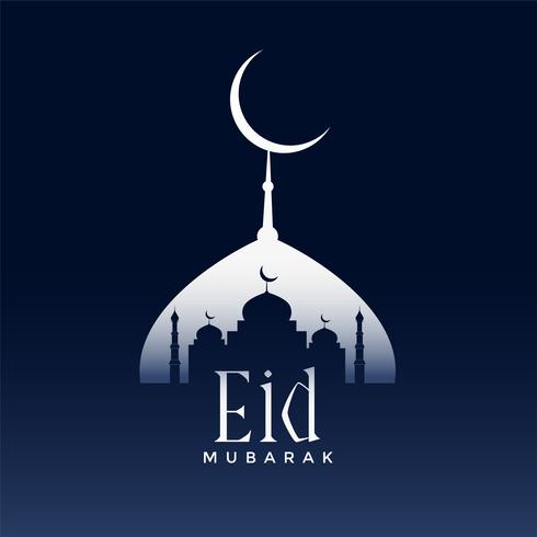 greeting design for eid mubarak season