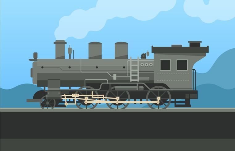 Ilustração locomotiva