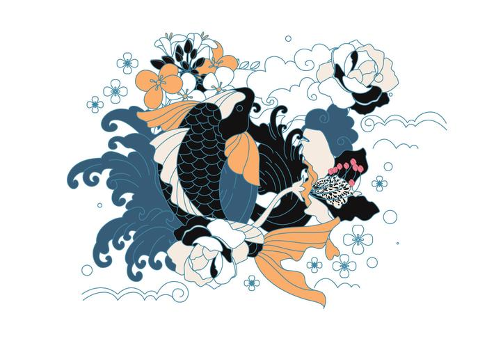 Japanische Tätowierung