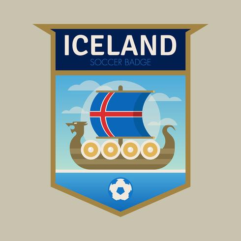 Iceland World Cup Soccer Badges