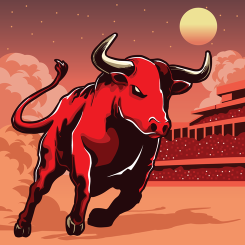 Bull Illustratie
