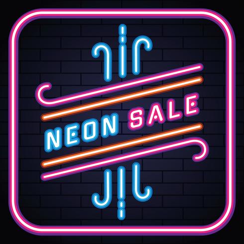 retro neon försäljning