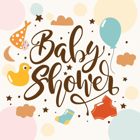 Baby Shower Backgrounds Download Free Vector Art Stock