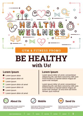 Brochure santé et bien-être