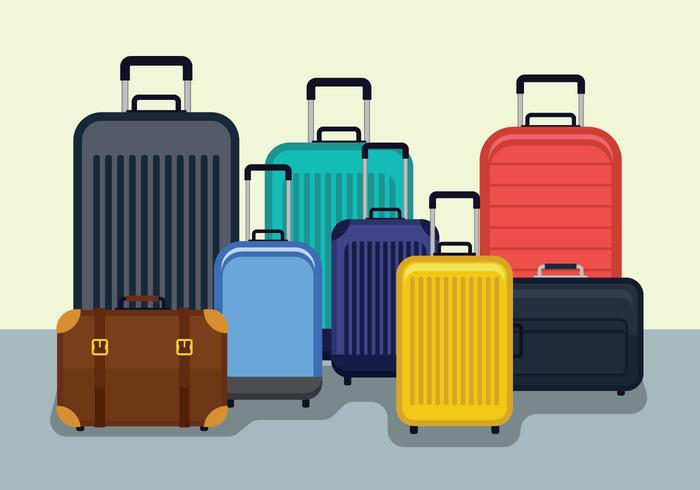 Luggage Vector Illustration