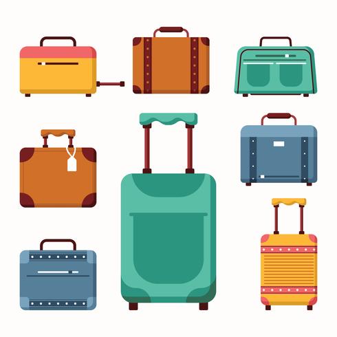 Luggage Vectors