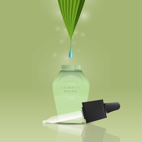 Essentiële Tea Tree Oliën Verkoop reclamemalplaatje vector