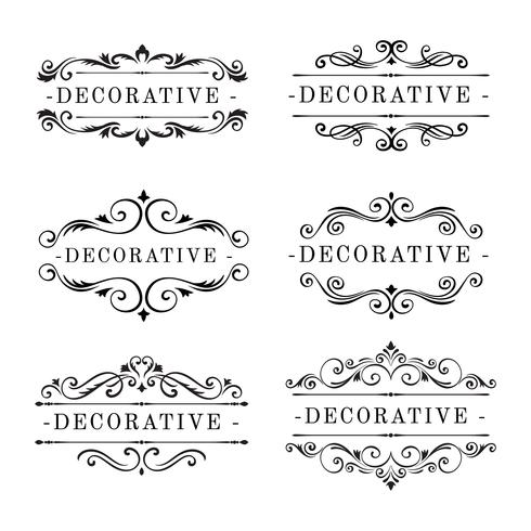Dekorativa Ornament Vector