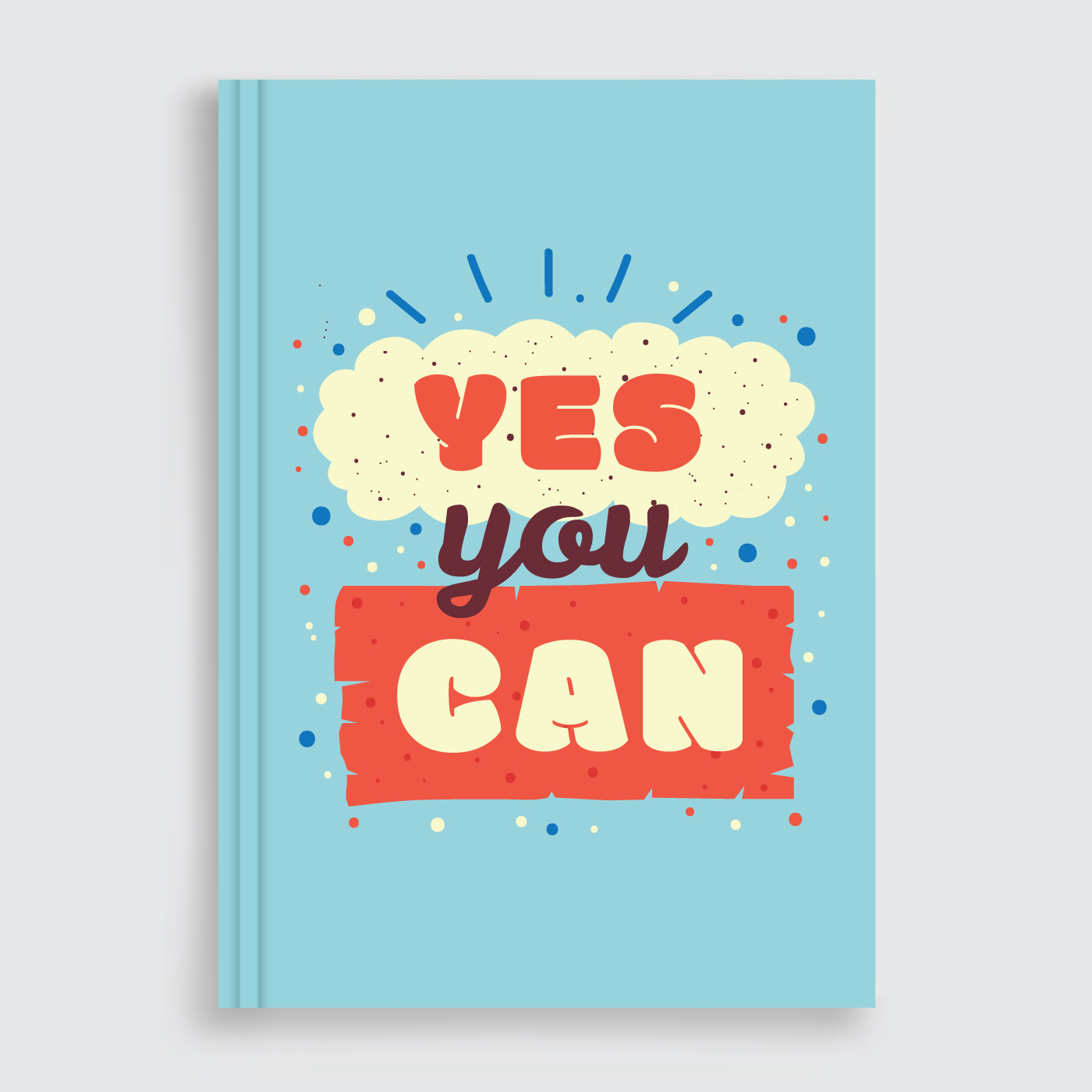 Creative Confidence Book Cover : Motivational book cover vector download free art