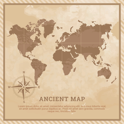 Ancient Map Illustration