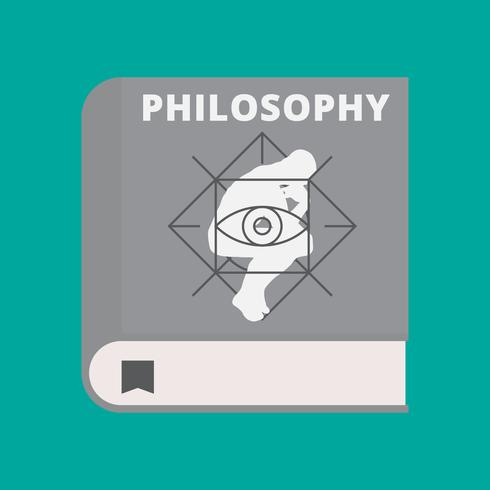 Philosophy Book Cover Vector