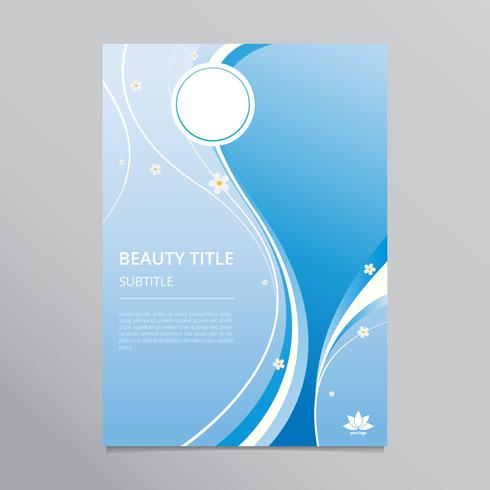 Beauty Treatment And Health Care Brochure Template Download Free