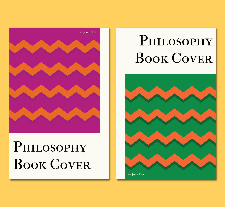 Typographic Book Cover Vector : Filosofia free vector art downloads