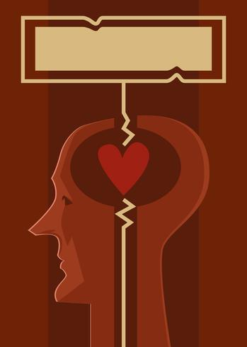 Love Philosophy Book Cover Vector