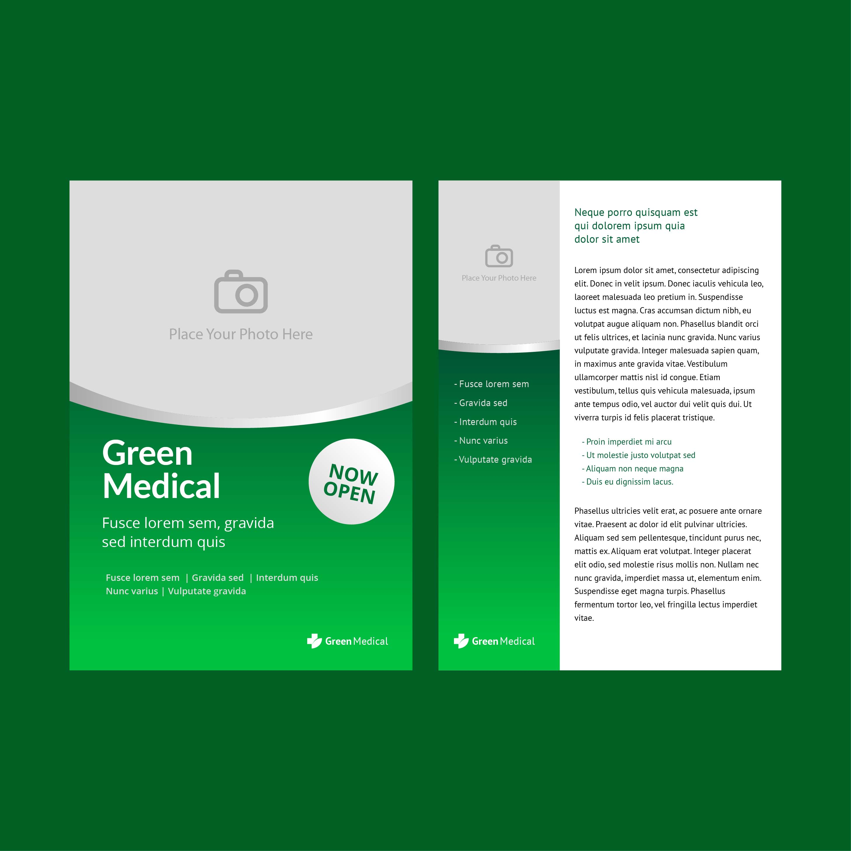 Health Brochure Template Vector Download Free Vector Art Stock