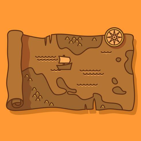 Forntida Kartavektor